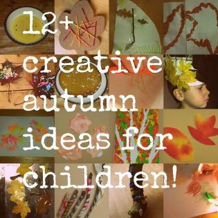 autumn creative ideas writing